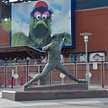 Phillies Steve Carlton Statue by Bill Cannon