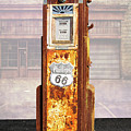 Phillips 66 Antique Gas Pump by Nick Gray