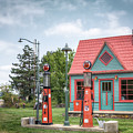 Phillips 66 Gas Station by James Barber