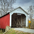 Phillips Covered Bridge  by Jack R Perry