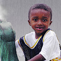 Philly Fountain Kid by Brian Wallace