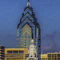 Philly Skyline-old And New by Nick Zelinsky