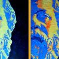 Philosopher - Socrates 2 by Ana Maria Edulescu