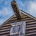 Philpsburg Manor - Gristmill Hoist Beam by Black Brook Photography
