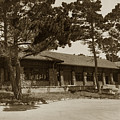 Phoebe A Hearst Social Hall Asilomar Pacific Grove Circa 1925 by California Views Archives Mr Pat Hathaway Archives