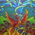 Phoenix Bird by Morgan Leshinsky