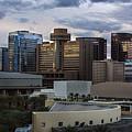 Phoenix Downtown Skyline by Dave Dilli