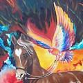 Blaa Kattproduksjoner         Phoenix Rider by Sigrid Tune