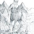 Pholus The Centauras by Curtiss Shaffer