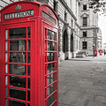 Phone Booths In London by James Udall