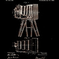Photographic Camera Patent 1885 by Claire  Doherty