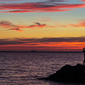 Photographing The Sunset by Steve Atkinson