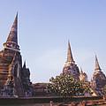 Phra Si Sanphet by Bill Brennan - Printscapes
