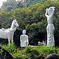 Phu My Statues 1 by Ron Kandt