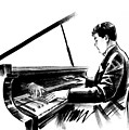 Pianist by Irina Ivanova