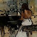 Pianist #0077 by Urszula Zogman