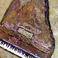 Piano In Bronze by Anita Burgermeister
