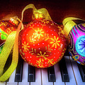 Piano Ornament Still Life by Garry Gay
