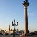 Piazetta San Marco In Venice In The Morning II by Michael Henderson