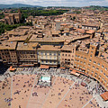 Piazza Del Camp In The Center by Joel Sartore