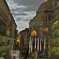 Piazza Del Duomo by Sonia Melnikova-Raich