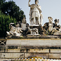 Piazza Del Popolo Fountain by Pati Photography