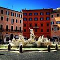 Piazza Navona 4 by Angela Rath