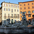 Piazza Navona Rome by Munir Alawi