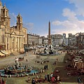 Piazza Novona - Rome by Mountain Dreams