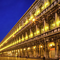 Piazza San Marco By Night by Inge Johnsson