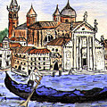 Piazzo San Marco Venice Italy by Arlene  Wright-Correll
