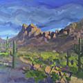 Picacho Peak by Ralph Papa
