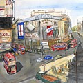 Picadilly Circus by Dan Bozich