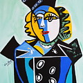 Picasso By Nora  The Queen by Nora Shepley