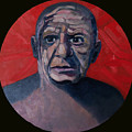 Picasso The Artist Icon by Ralph Papa
