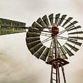 Piceance Basin Windmill by Debbie Rudd