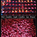 Pick Your Candles - Light Your Candles - Say Your Prayer by James BO Insogna