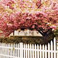 Picket Fence Charm by Jessica Jenney
