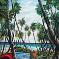 Picking Coconuts .. Mayaro by Karin  Dawn Kelshall- Best