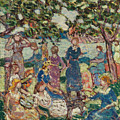 Picnic By The Inlet by Maurice Brazil Prendergast