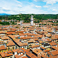 Picturesque Cityscape Of Verona Italy by Just Eclectic