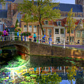 Picturesque Delft by Uri Baruch