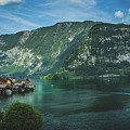 Picturesque Hallstatt Village by Andy Konieczny