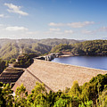 Picturesque Hydroelectric Dam by Jorgo Photography - Wall Art Gallery