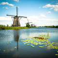 Picturesque Kinderdijk by Hannes Cmarits