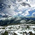 Picturesque Mountain Landscape by Anthony Dezenzio