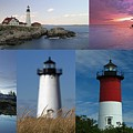 Picturesque New England Lighthouses by Juergen Roth