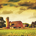 Picturesque North Dakota Farm by Library Of Congress
