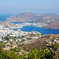 Picturesque View Of Skala Greece On Patmos Island by Just Eclectic