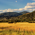 Picturesque View Of Steamboat Springs Colorado by Mountain Dreams